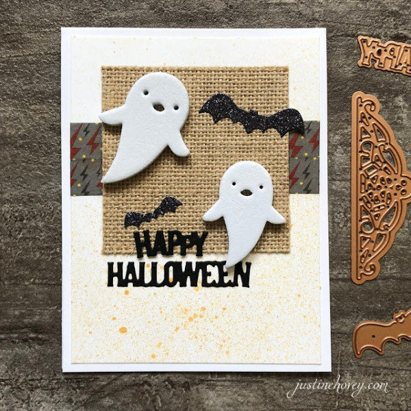 Halloween Cards with Texture