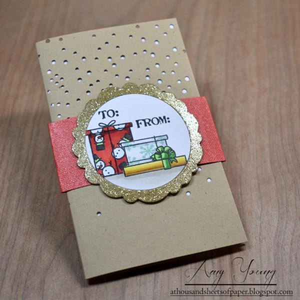 Pop Up Gift Card Holder