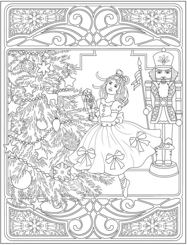 5 Nutcracker Coloring Pages