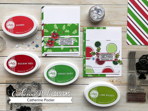 Easy Christmas Cards with Pattern Papers