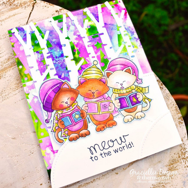 Add Color to Foiling Sheets