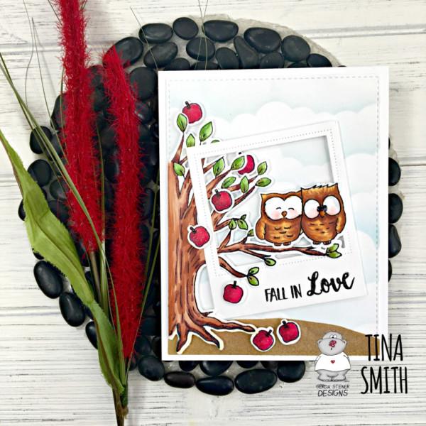 Fall Owl Couple Card