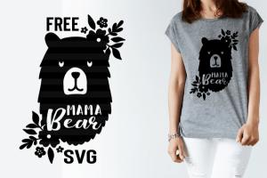 Mama Bear SVG Cut File