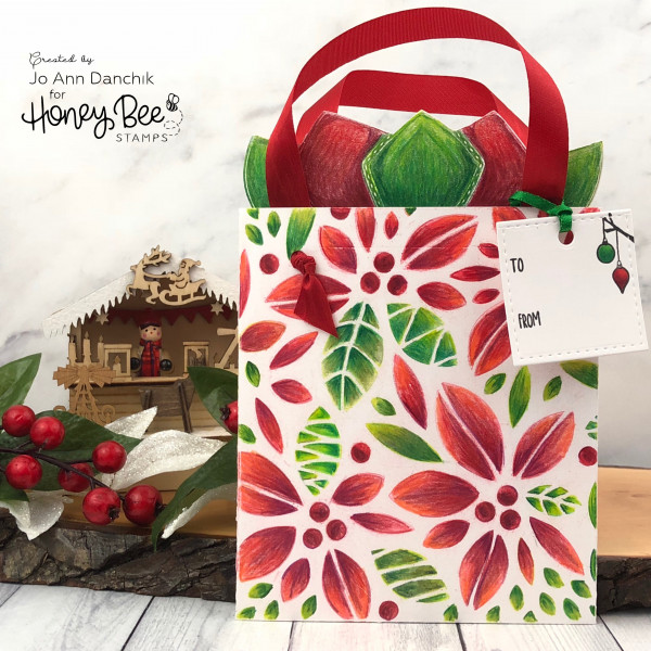 Gift Bag Shaped Card