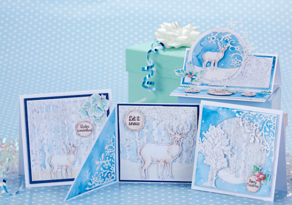 Winter Deer Printables