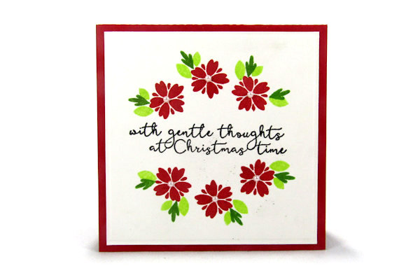 How to Stamp a Wreath