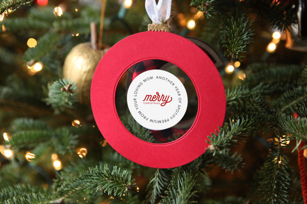 Subscription Gift Card Ornament