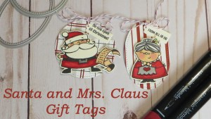 Santa and Mrs. Claus Christmas Gift Tags