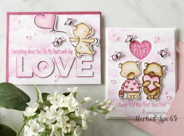 Valentine Bears Cards