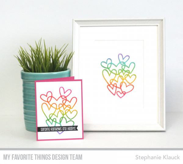 Valentine Framed Art with Matching Card