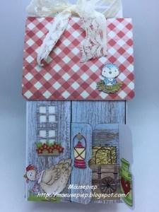 Cottage Shaped Box