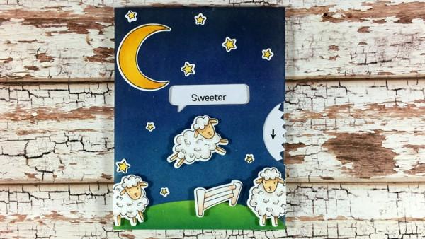 Sheep Wheel Card