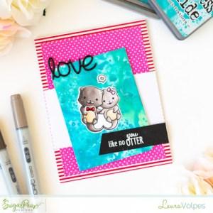Otter Valentine's Day Card
