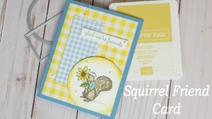 Squirrel Friend Card