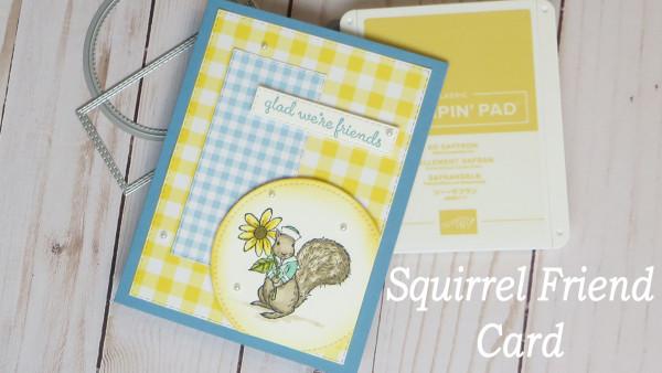 Squirrel Friend Card