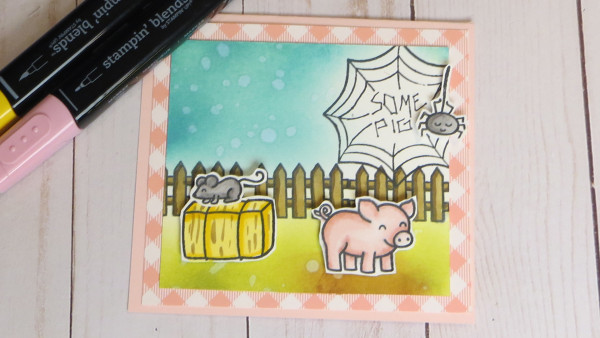 Charlotte's Web Inspired Card