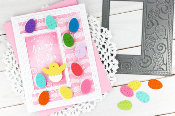 Easter Card with Die Cuts