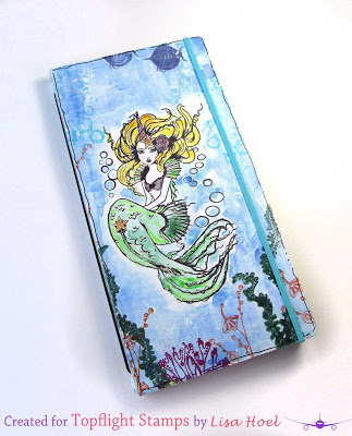 Stamped Mermaid Journal