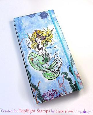 Stamped Mermaid Journal