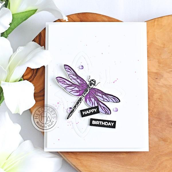 Add a Subtle Card Background w/ Embossing