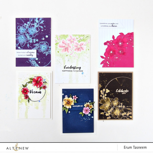 1 Stamp 6 Cards