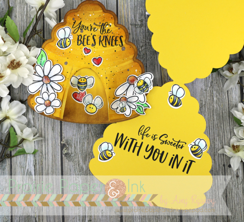 Beehive Shaped Cards