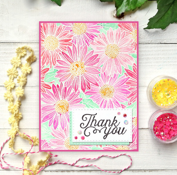 Daisy Cards - 2 Stamp 5 Ways