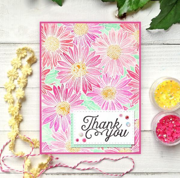 Daisy Cards - 2 Stamp 5 Ways