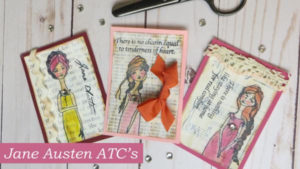 Jane Austen ATC's