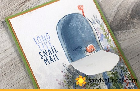 Snail Mail Mailbox Card