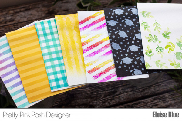 12 Stencil Ideas for Cards