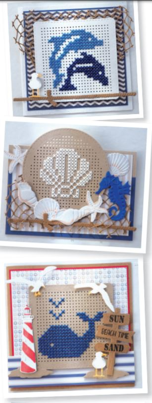 Nautical Cross Stitch Patterns for Dies