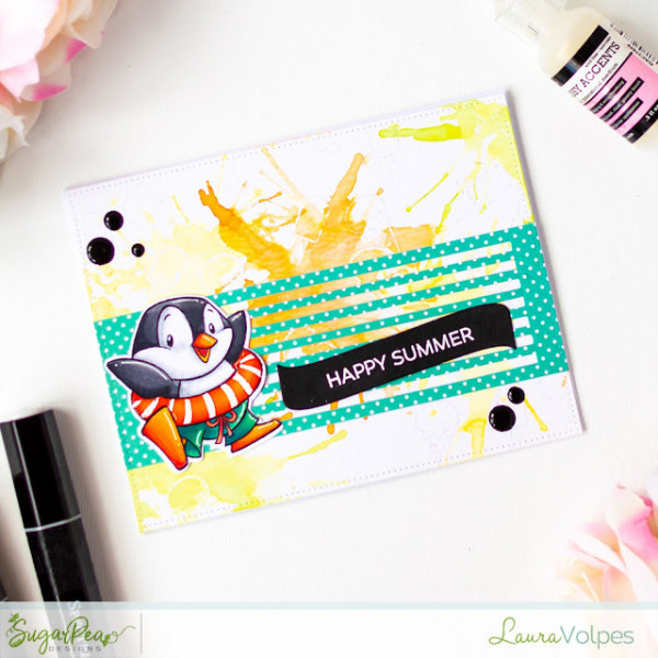 Summer Penguin Card