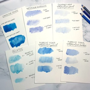 Watercolor Comparisons