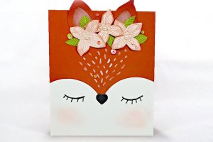 Fox Face Card