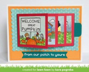 It's the Great Pumpkin Flip Card