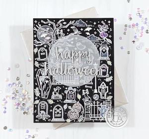 Peek a Boo Halloween Card