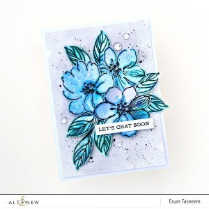 Watercolor Smooshing Technique