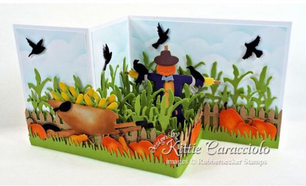 Scarecrow Z Fold Card