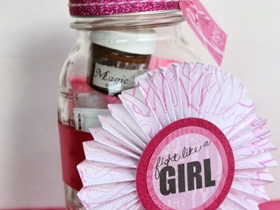 Breast Cancer Gift in a Jar