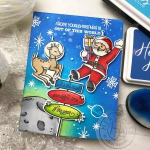3 Retro Christmas Cards