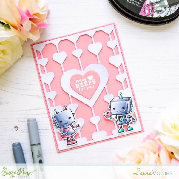 Robot Valentines Day Card