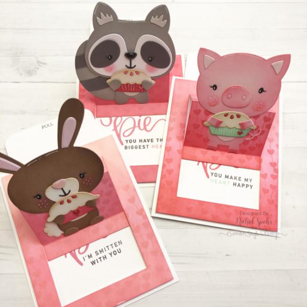 Animal Pop Up Slider Cards