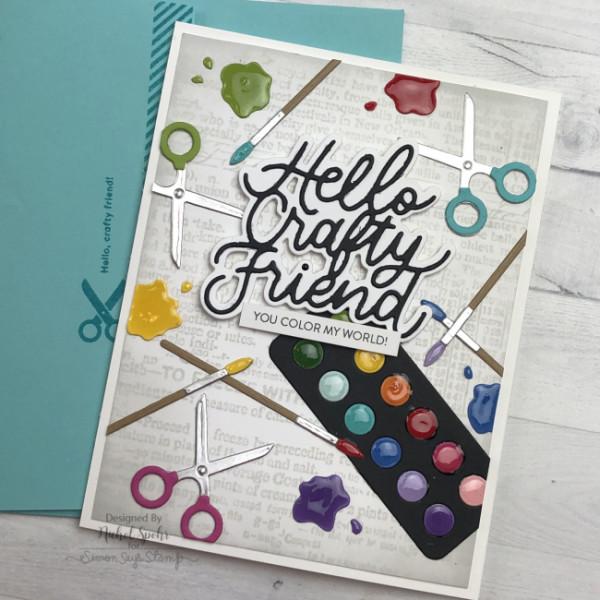 Crafty Friend Card