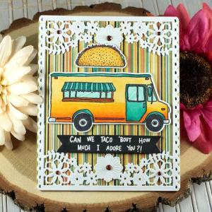 6 Food Truck Card Ideas