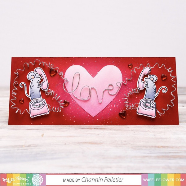 Love Mice Card