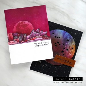 Night Sky Light Up Cards