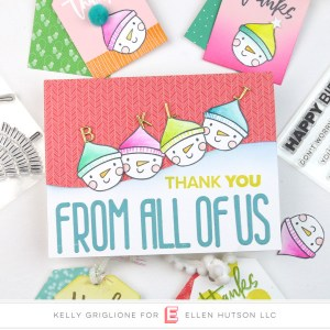 Snowman Thank You Tags and Card