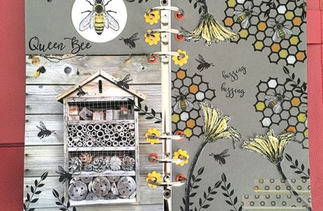 Stamp Style Trend: Bees