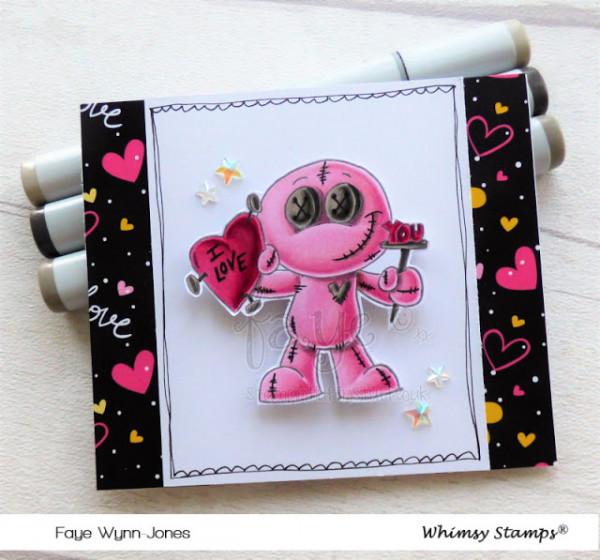 Voo Doo Valentine Card
